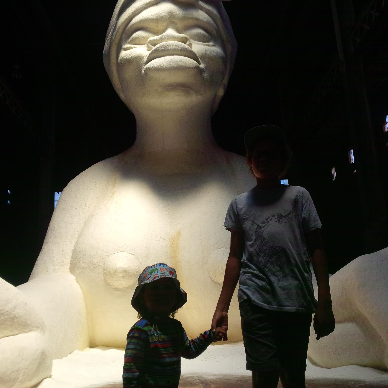 Kara Walker Sphinx Domino Sugar Factory