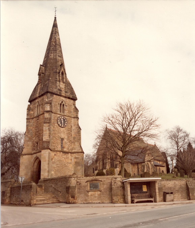 All-Saints, Wykeham, William Butterfield