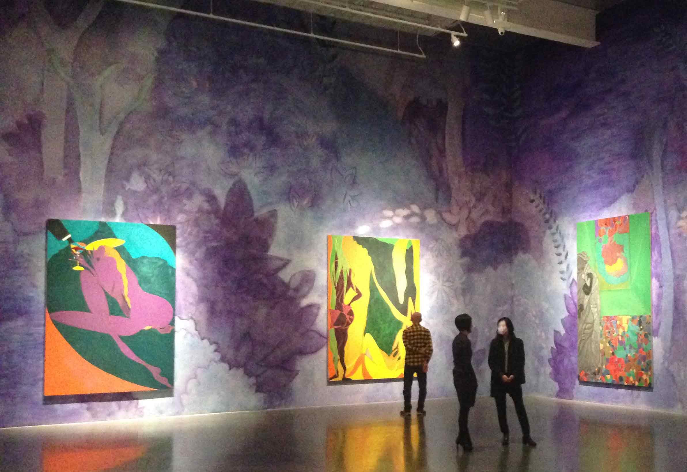 Chris Ofili – Night & Day, New Museum, NYC
