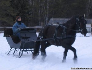 The sleigh was off!