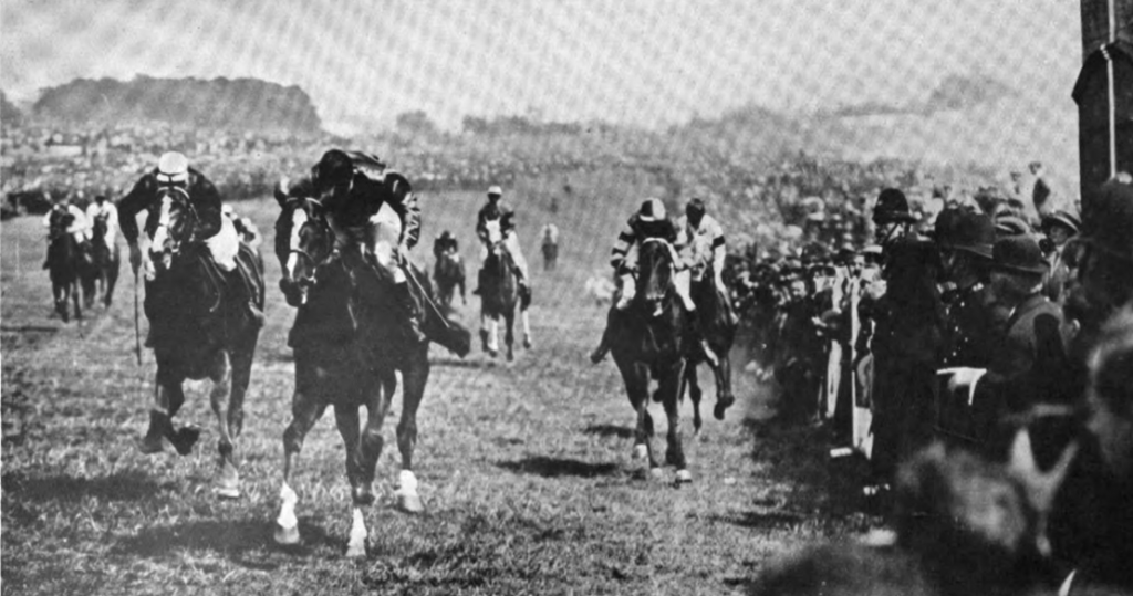 Spion Kop wins the Derby 1920