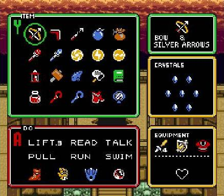 Link's arsenal.