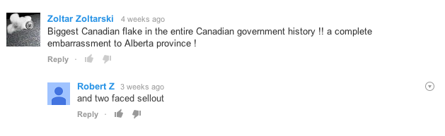 The people are riled.
