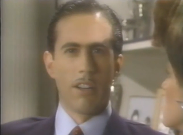 Seinfeld: acting, but still Seinfeld.