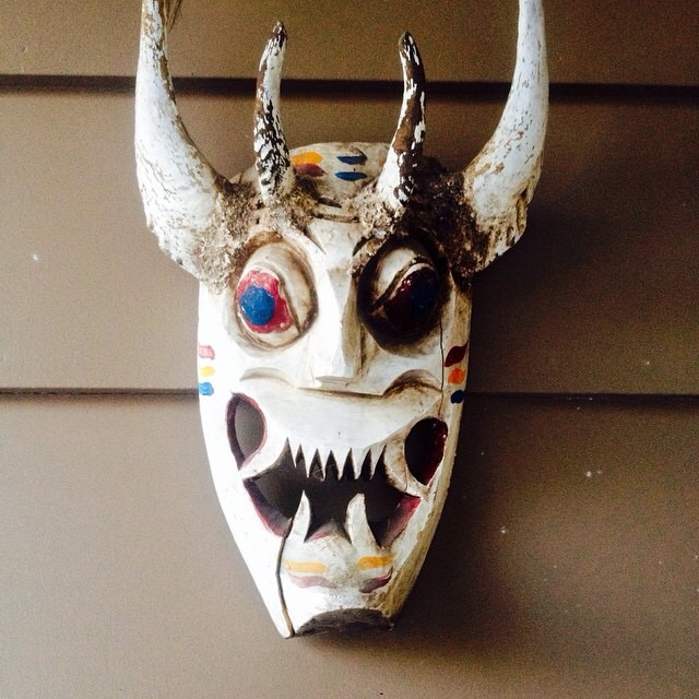 The Mask, photograph by Whitey Kirst.