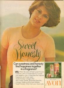 AVON 70 sweet honesty