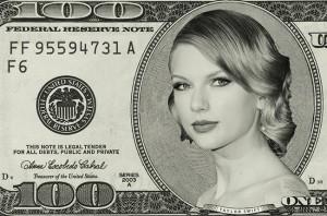 Taylor Swift As Money