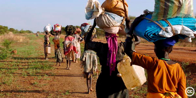 Migration from South to North poses significant environmental challenges.