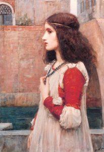 Juliet by J.W.Waterhouse, 1898