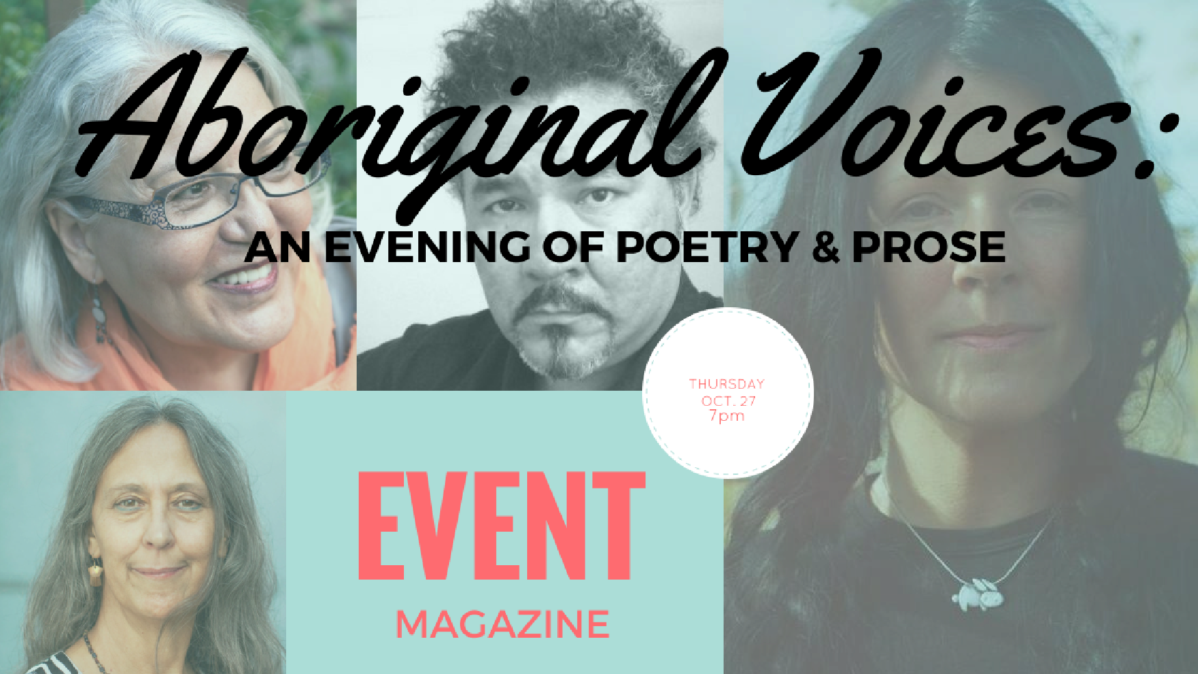 Hear Aboriginal Voices Tonight with EVENT