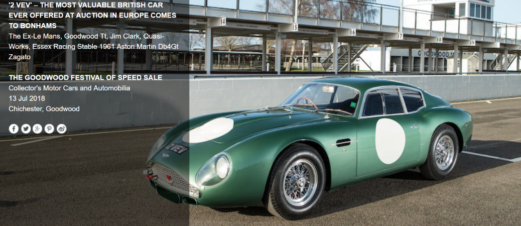 Aston Martin DB4 2VEV