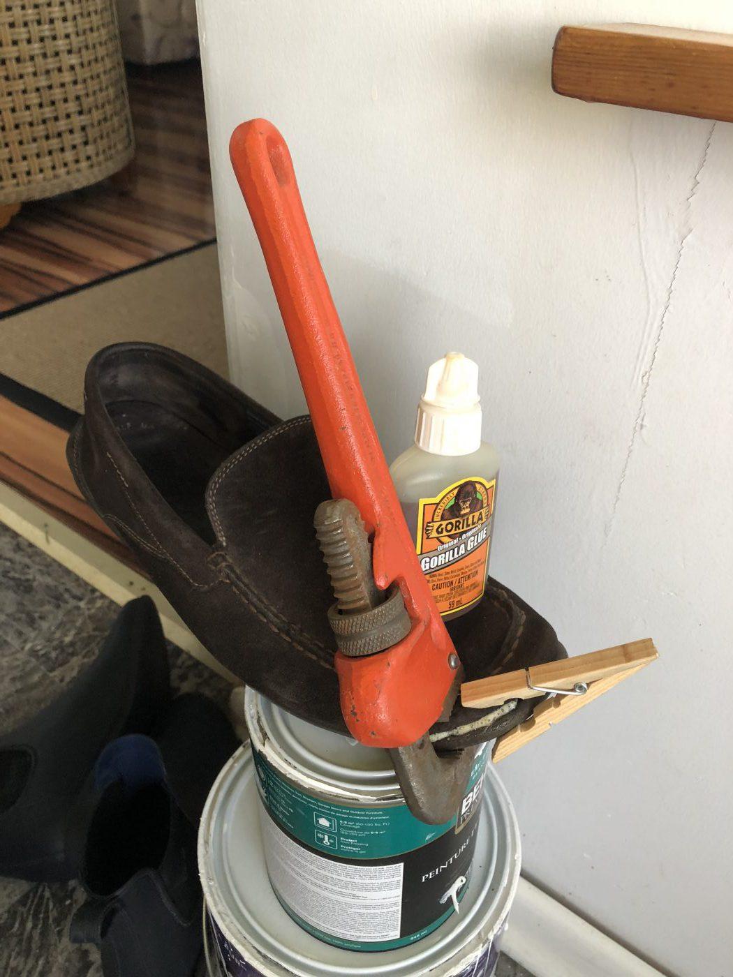 Gorilla Glue Shoe Repair
