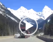 A quiet drive in the Rockies until…