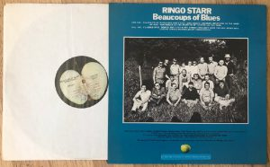 Ringo Starr Beaucoups of Blues Rear Cover Exterior